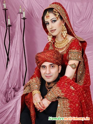 Register on NamdevMatrimony.in